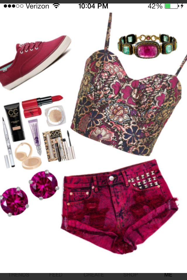 Maroon teen fashion