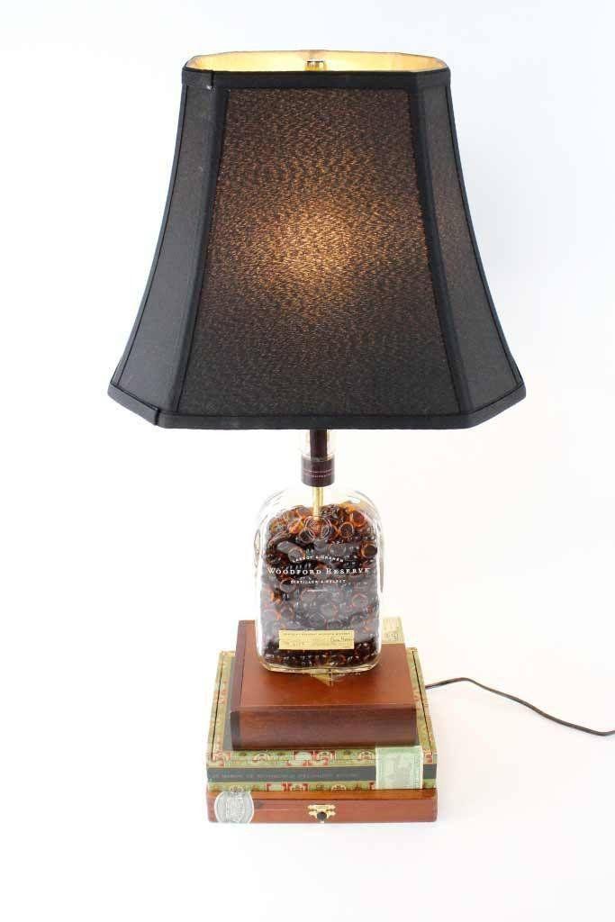 17 Best Ideas About Liquor Bottle Lamps On Pinterest