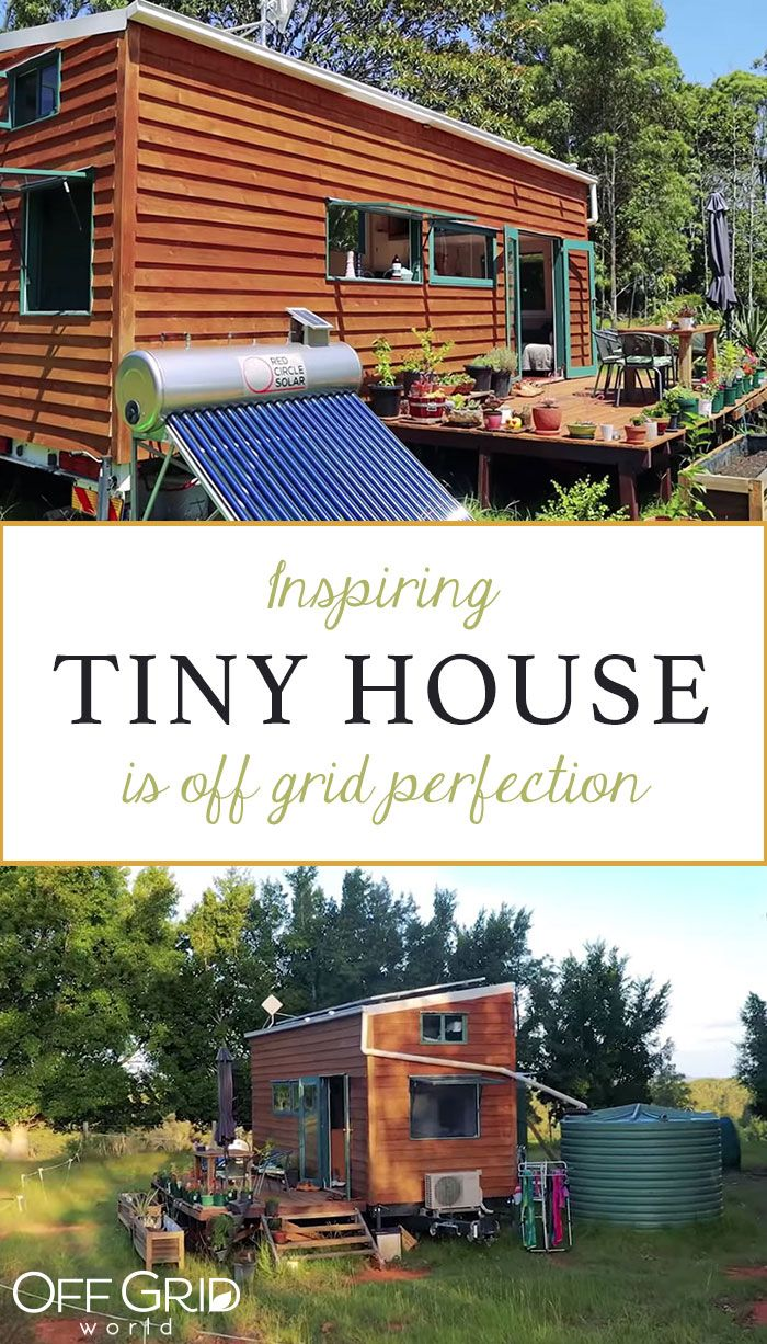 This Tiny House Is Off Grid Perfection In 2020 Off Grid Tiny