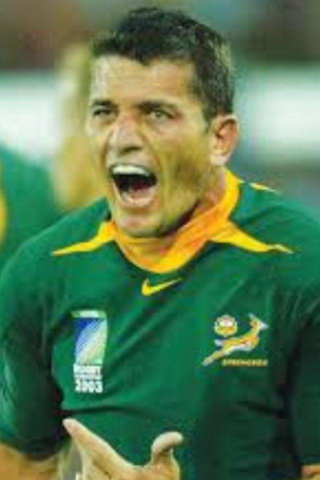 Joost van der Westhuizen - South African rugby player
