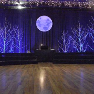 Stage design for Rogers and Hammerstein, Some Enchanted Evening.
