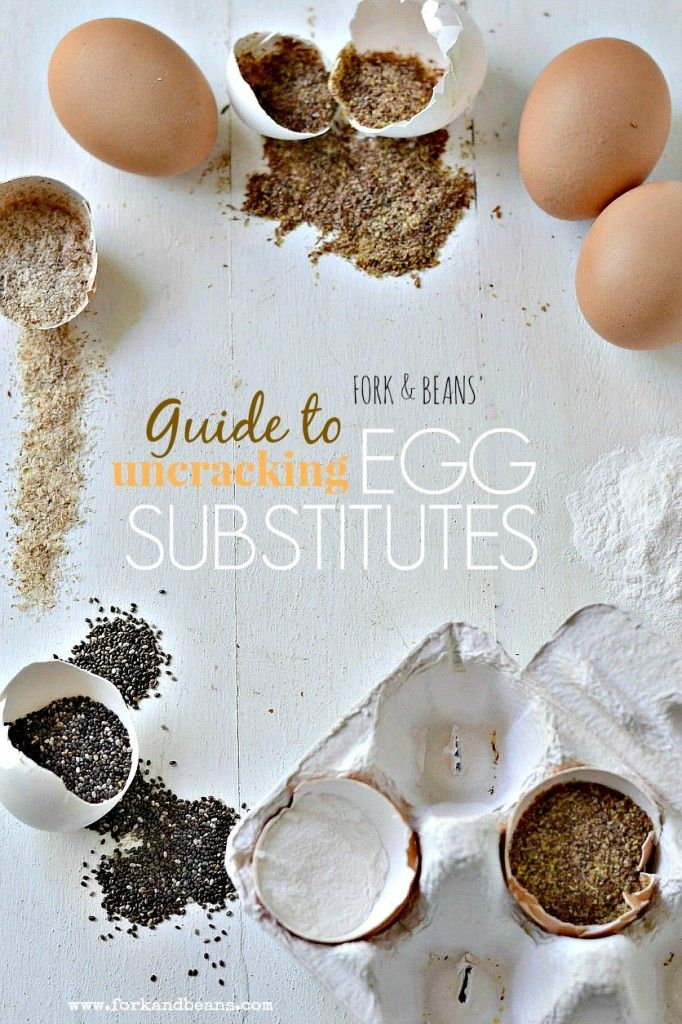 Guide to Egg Substitutions