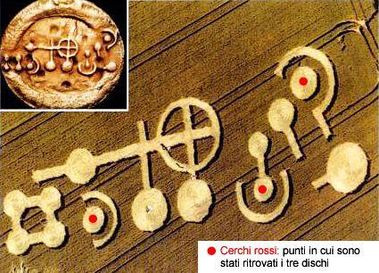 La zona in cui è apparso il pittogramma è archeologicamente significativa: un sito degli antichi Teutoni, probabilmente in cima ad un percorso processionale preistorico...
