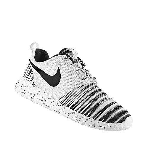 """Nike Roshe Run """"Zebra"""" Custom"""