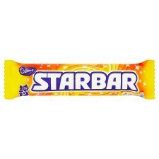 Cadbury Star Bar 52G - Groceries - Tesco Groceries €0.95 Milk chocolate shot through with peanuts and creamy caramel
