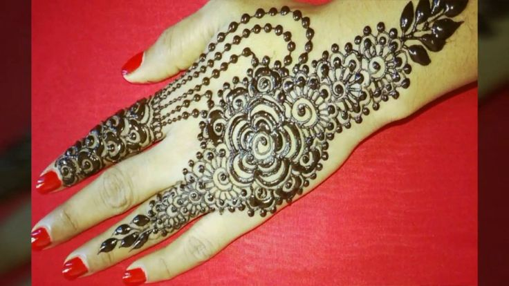 Beautiful simple 30+ mehndi designs pictures for eid -henna design pictures -mehndi images for eid