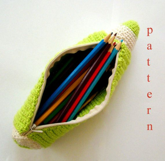 1000 Images About Crochet Pencil Cases On Pinterest