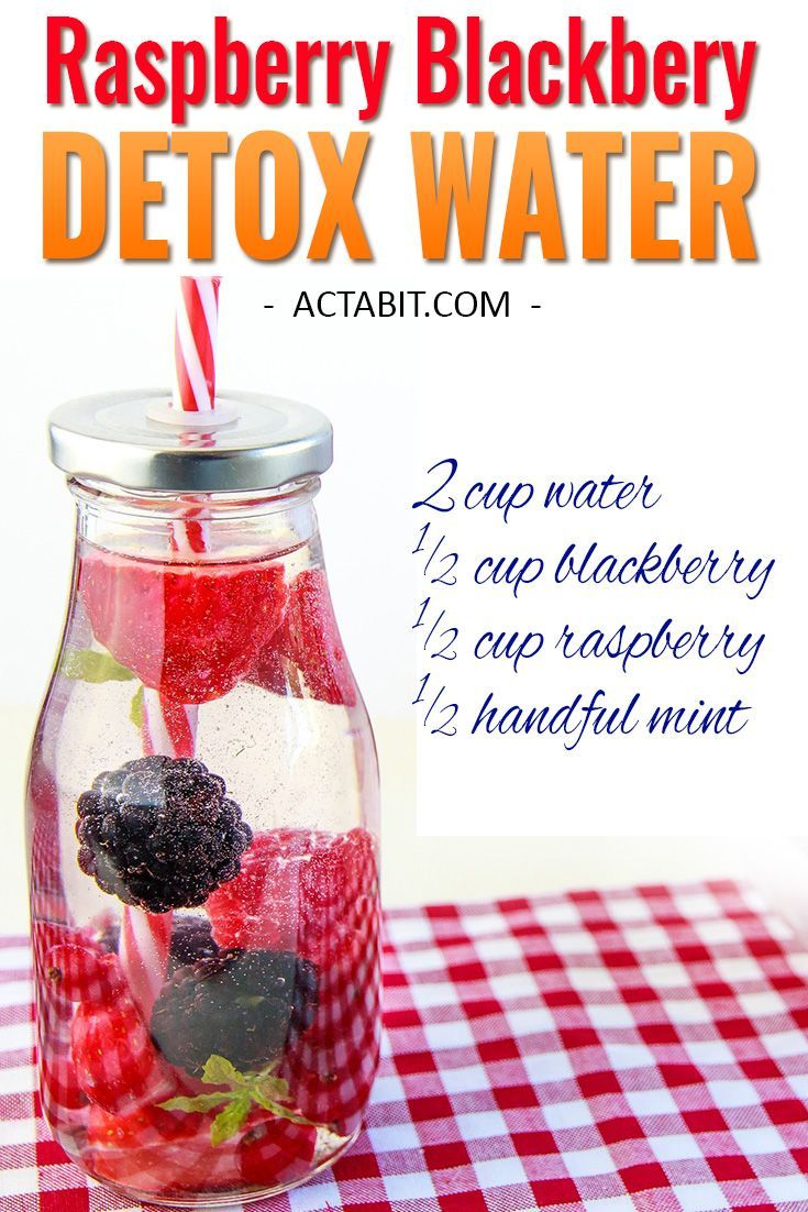 Try this Raspberry and Blackberry water and 5 other fruit-infused detox water re… – Drinks