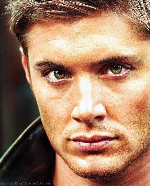 "Jensen Ackles...He is kinda too ""good looking""...then again he seems to be a lot of fun...and there´s his green eyes and freckles..."