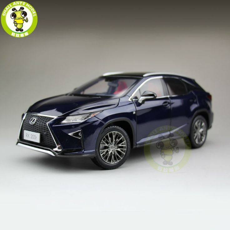 161.50$  Buy here - http://alijbj.worldwells.pw/go.php?t=32705439055 - 1/18 Toyota Lexus RX 200T RX200T Diecast Model Car Suv hobby collection Gifts Blue Color