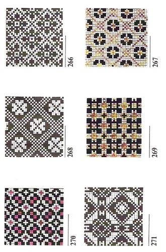 chart knitting / Varegki 350 uzorov_85.jpg