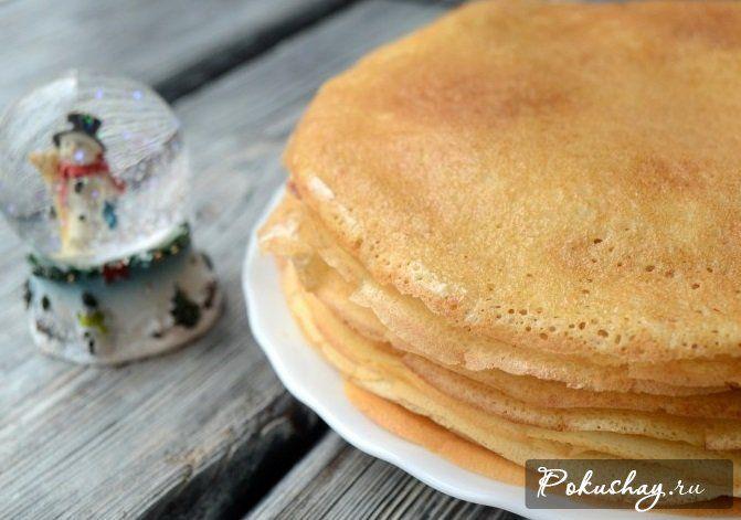 Рецепт вкусных блинов пошаговый рецепт с фото