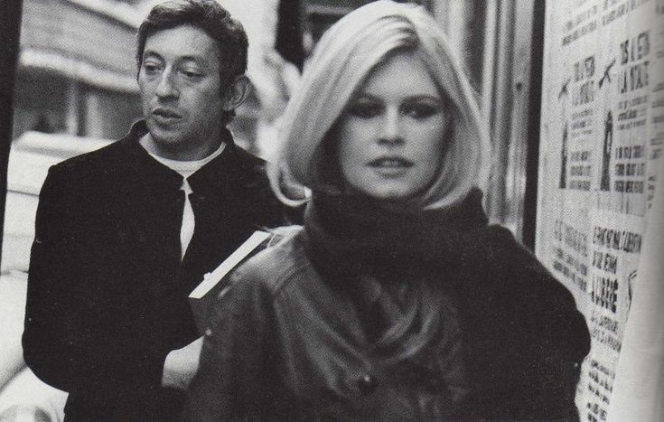 Serge e Brigitte Bardot