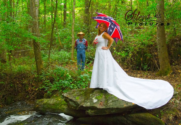 30 best photography images on pinterest waterfalls for Rebel flag wedding dresses