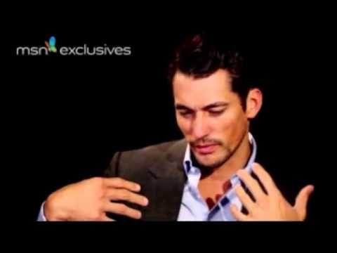 David Gandy - London 2012 Summer Olympics Closing Ceremony (MSN Interview) - YouTube