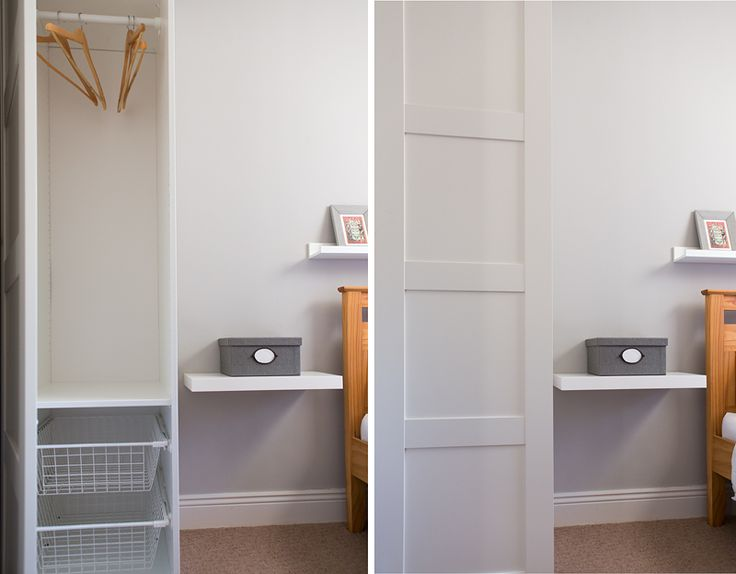 Best Tall And Narrow Pax Wardrobe From Ikea Small Bedroom 400 x 300