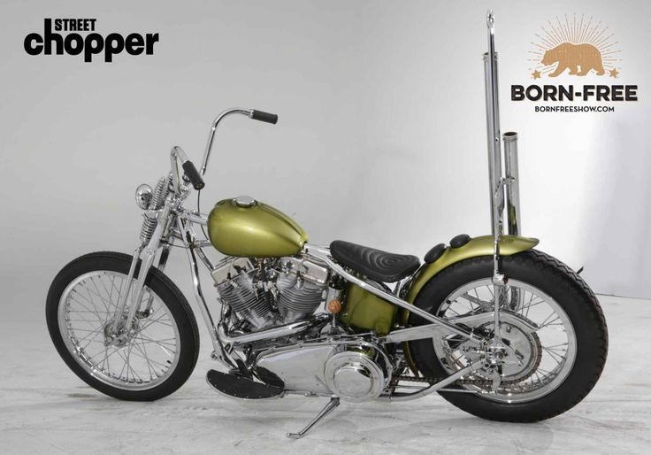 Exclusive Born Free 7 Invited Builders - Jason Webber | Street Chopper