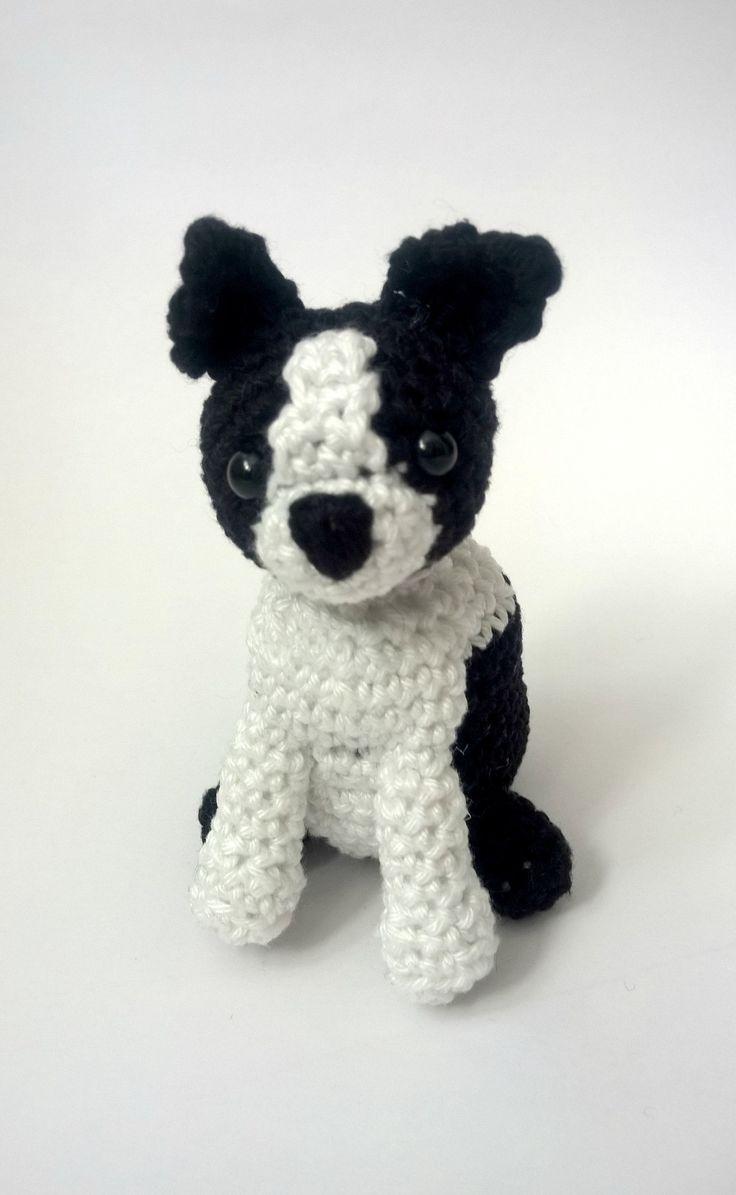 best dog crochet images on pinterest  crochet animals dog  - crochet boston terrier boston terrier stuffed animal