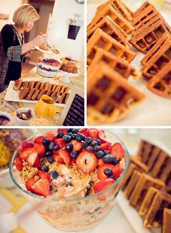 ideas for bridal shower brunch food%0A Bridal shower brunch Bridal Brunch   Aisle Perfect