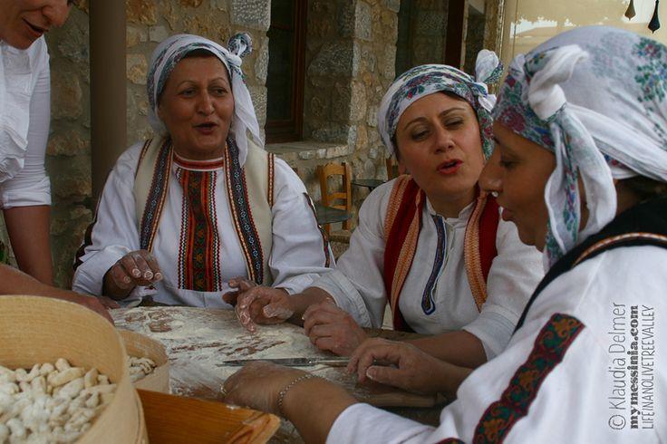 Messinian dumplings &Songs around the Table | My Messinia
