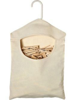 clothespin bag: Homemade Clothing Pin Hangers, Design Trends, Vermont Country Stores, Bags 7 95, Pin Bags, Laundry Rooms, Canvas Clothespins, Clothespin Bag, Clothespins Bags Remodelista