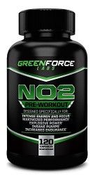 NO2 Nitric Oxide Preworkout Supplement with L-Arginine – Increase Muscle, Reduce Fatigue, Boost Strength, Improve Endurance – All In One Workout Boosting Formula.