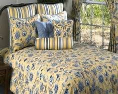 Best Yellow Comforter Ideas On Pinterest Yellow Spare - Blue and yellow comforter sets king