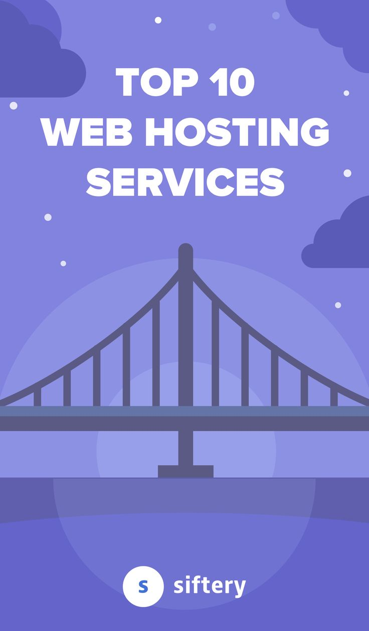 Web Hosting is a hosting arrangement in which a web host (often an internet service provider) maintains clients' websites on its computers and provides related services.  This is a list of the top 10 web hosting services.