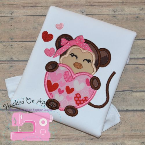 Best valentine s day appliques images on pinterest