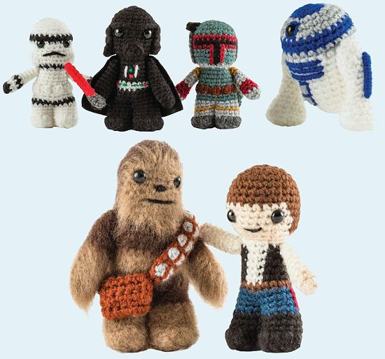 Image result for free crochet patterns for star wars characters