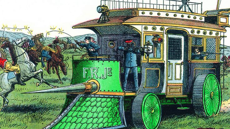 These Are The Fantastical Victorian Off-Roaders That Didn't Exist