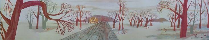Animation Backgrounds: December 2009