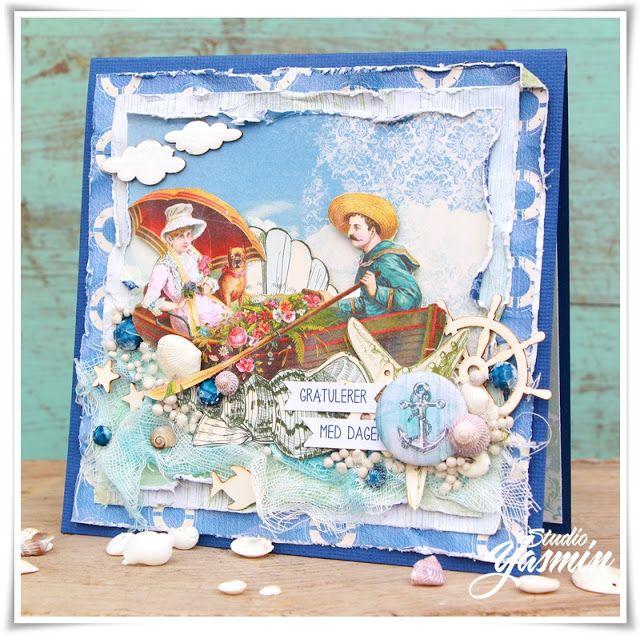 Studio Yasmin - Maritime Card - DT Scrapberry's