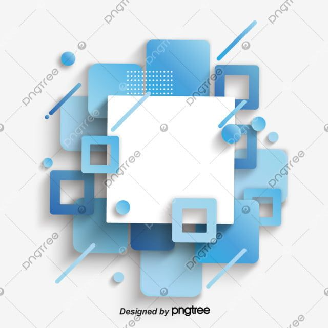 Blue Abstract Business Square Geometric Blue Clipart Abstract Blue Decoration Png And Vector With Transparent Background For Free Download Blue Abstract Geometric Vintage Geometric Background