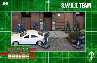 Must Contain Minis: RAFM S.W.A.T. Team Review and Showcase