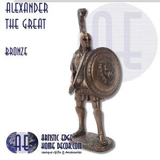 Alexander The Great - Bronze Figurine