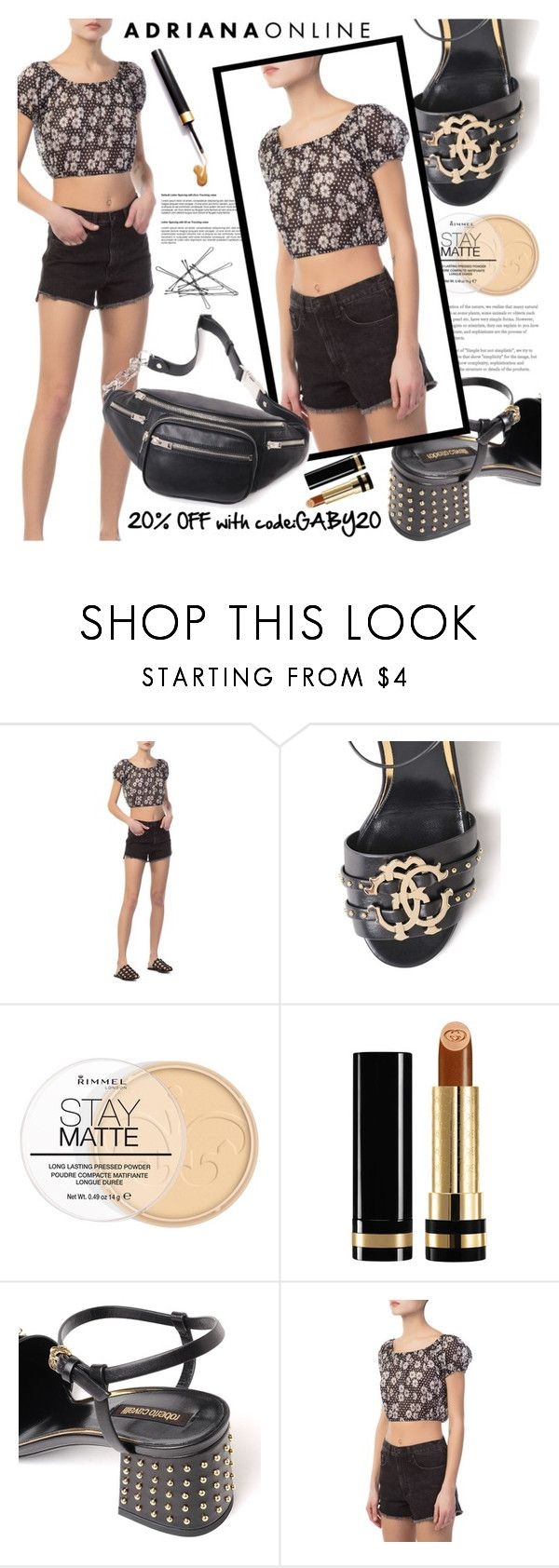 """ADRIANA ONLINE: Waiting For Summer"" by gaby-mil ❤ liked on Polyvore featuring Lisa Marie Fernandez, Roberto Cavalli, Rimmel, Gucci and Alexander Wang"