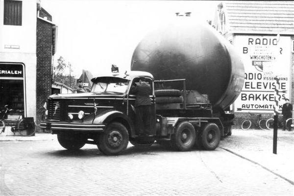 1948 Kromhout zwaar transport - Lommerts