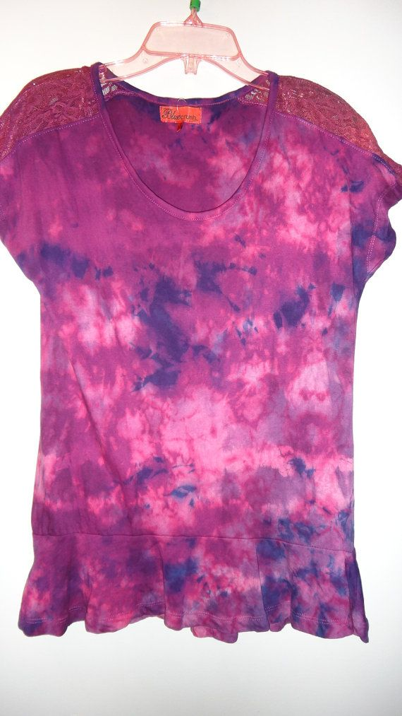 Tie dye t-shirt by WiseWitchWear on Etsy