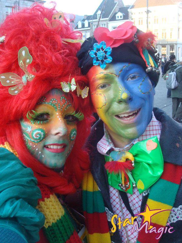 Fotowedstrijd Carnaval 2011   Fotowedstrijd Schminkcreaties