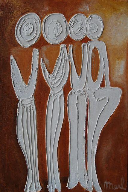 Kom binnen in de Kunstgalerie van Marl.Decoratieve schilderijen: 08-029 Quartet de Cadenet