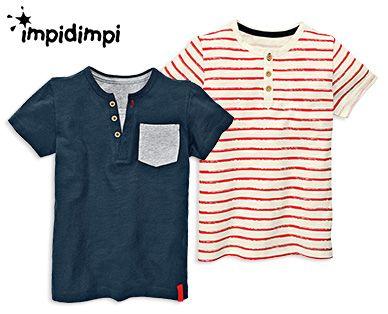 impidimpi Kleinkinder-Shirts, 2Stück