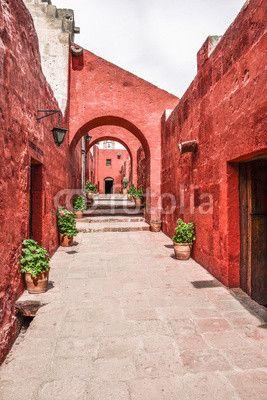 Monastery of Santa Catalina in  Arequipa, Peru