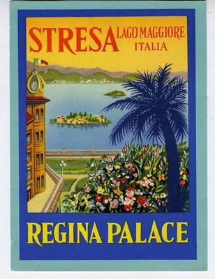 Regina Palace Hotel Stresa Italy...