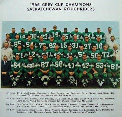 1966 Saskatchewan Roughriders