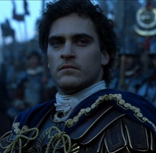Joaquin Phoenix as Commodus - The Gladiator