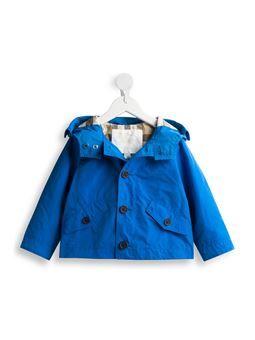 hooded Harrington jacket