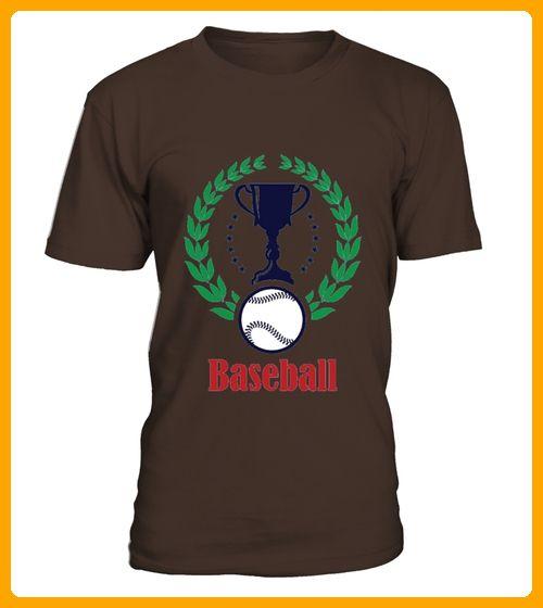 Baseball Trophy Emblem Logo Tshirt - Baseball shirts (*Partner-Link)