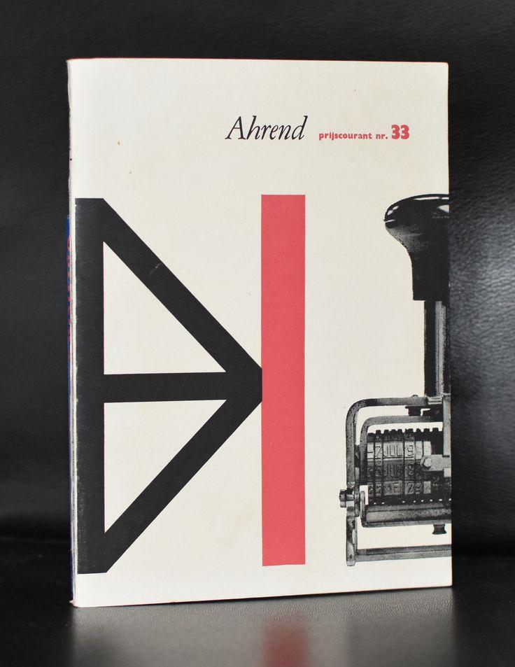 Ahrend # PRISCOURANT nr. 33# 1957, near mint+++