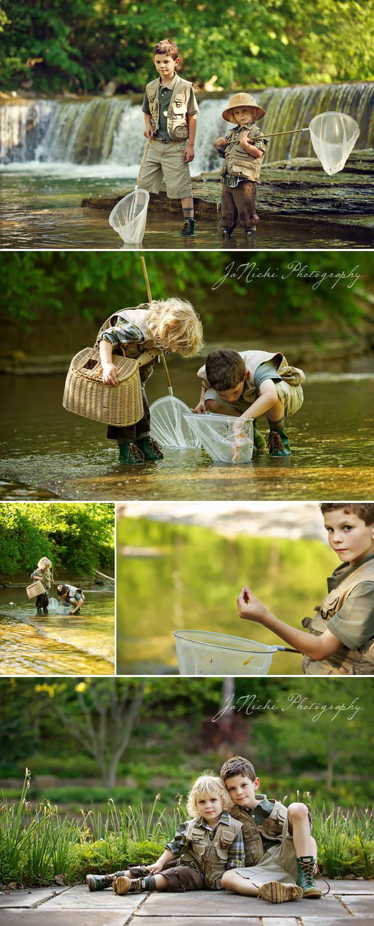 Connor & Brady   River Runs Through It Styled Photo Session